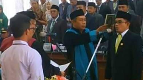 Resmi Dilantik Dan Diambil Sumpah, Fathorrahman Sebagai Ketua DPRD di Pamekasan