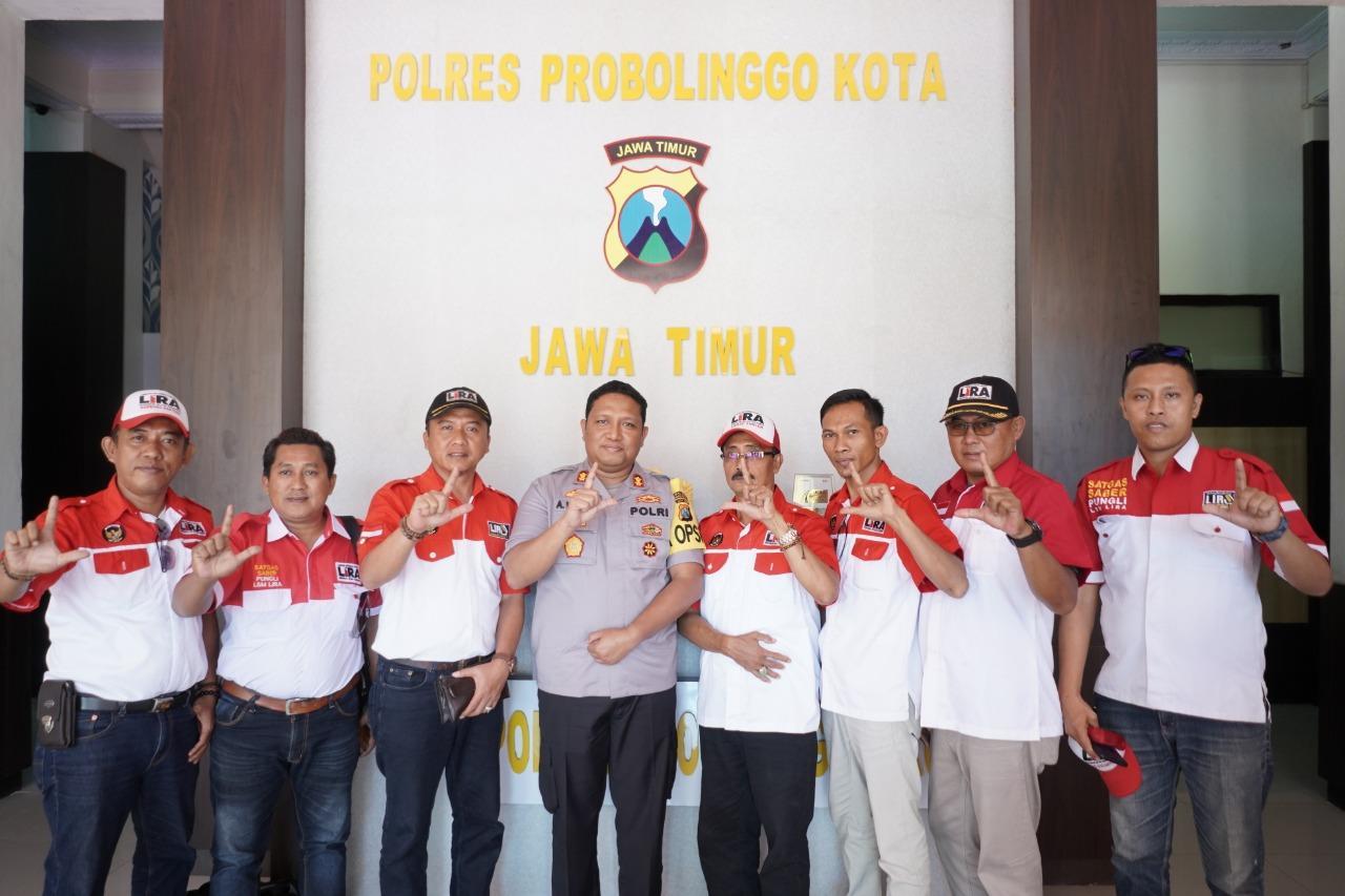 Lira Kota Probolinggo Menjalin Kemitraan Bersama Polresta Probolinggo