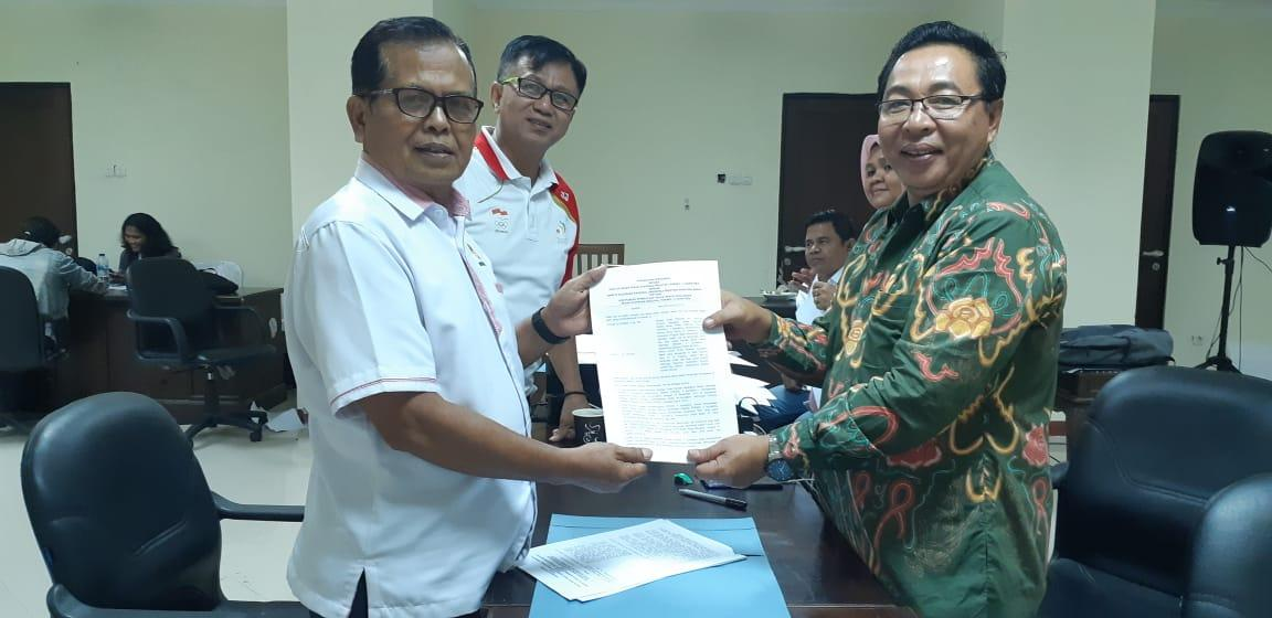 Penandatanganan Perjanjian Kerjasama dengan Peserta Porwil se-Sumatera