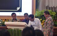 Presiden Jokowi Resmikan Pengoperasian Palapa Ring