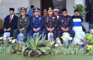 Prajurit Lanal Malang Ikuti Upacara Hari Jadi Provinsi Jatim Ke-74