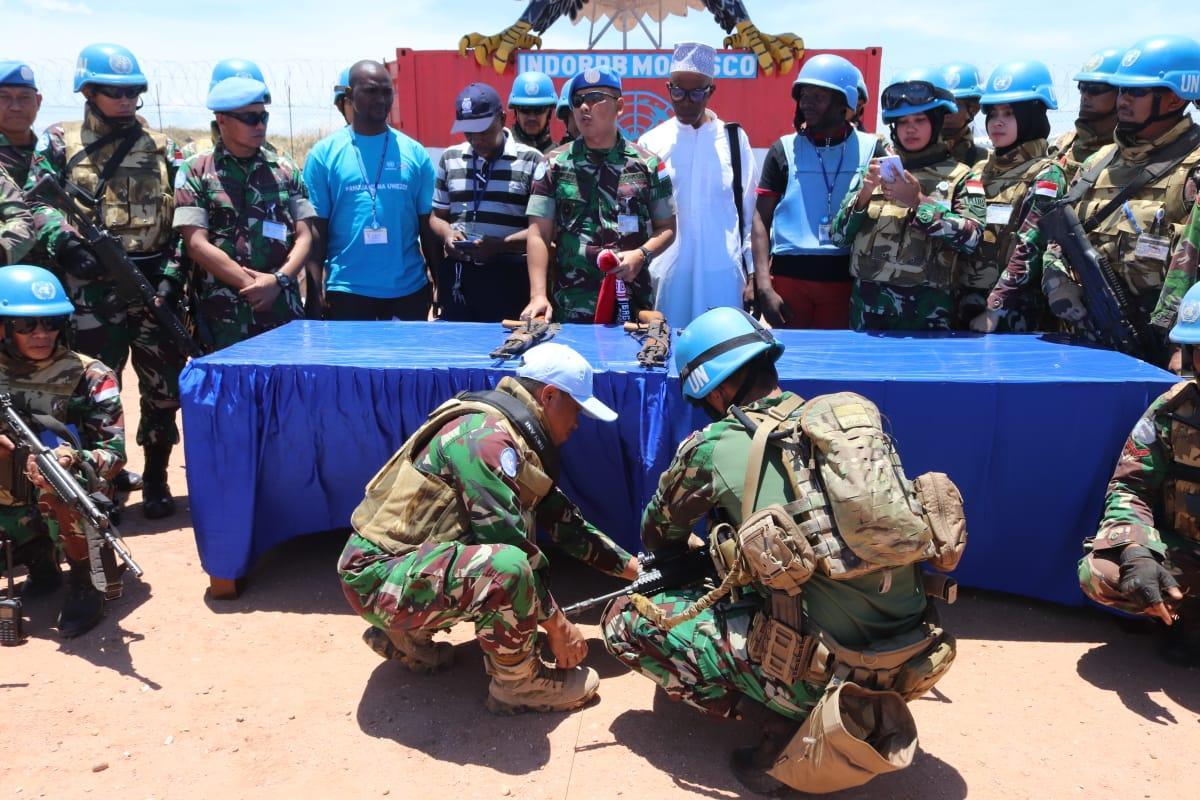 Gelar Operasi Selama Tiga Minggu, Satgas RDB Kembali Dapatkan Senjata dan Puluhan Munisi