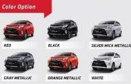 6 Pilihan Warna Toyota Calya