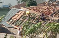 Puting Beliung Landa Wonosobo Rusak Rumah Warga
