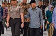 Pulang dari Pelantikan Presiden-Wapres RI,  Ajudan JK Berpangkat Jenderal