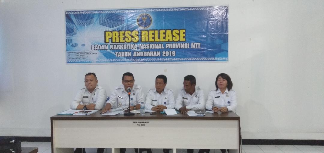 2019, BNNP NTT Rehabilitasi 60 Penyalahguna Narkoba