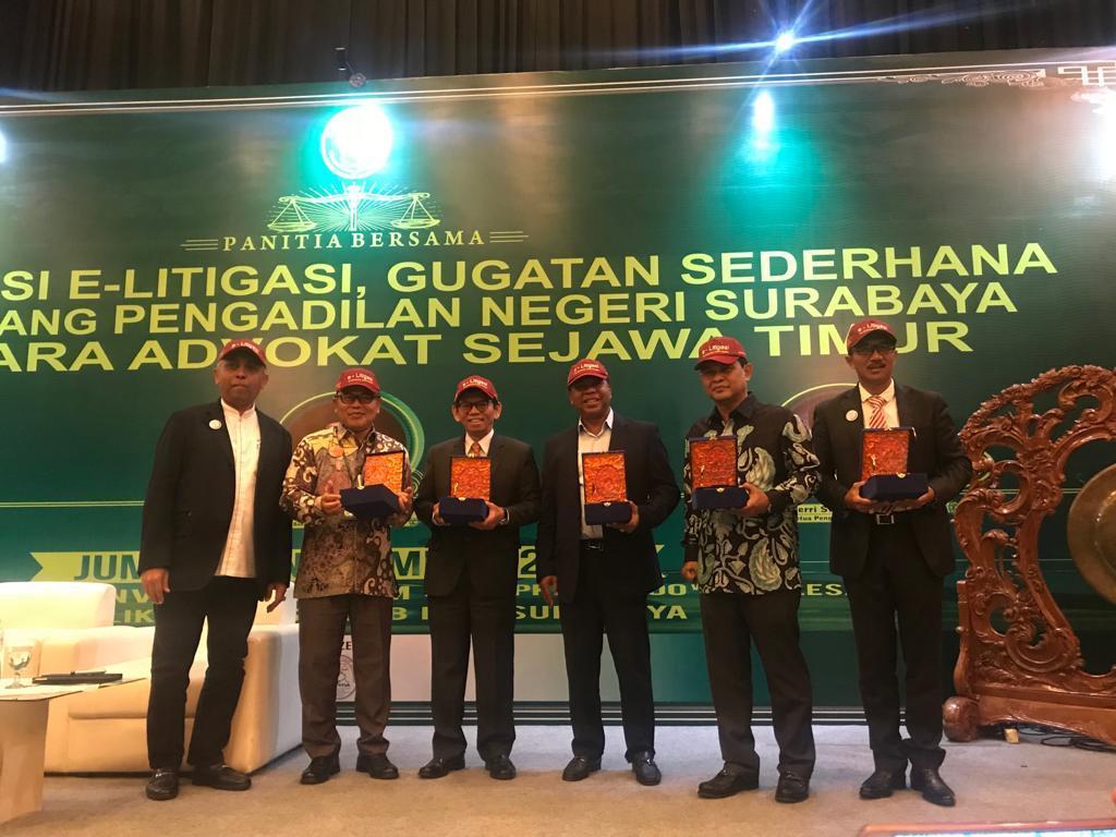 Advokat Jawa Timur Bersatu, Sosialisasikan Sistem Peradilan Berbasis Digital