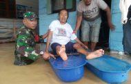 Banjir Rendam Rumah Warga, Puluhan Kepala Keluarga Mengungsi