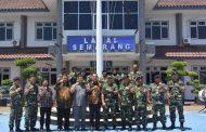 Danlanal Semarang Terima Kunjungan Kerja Ketua DPRD