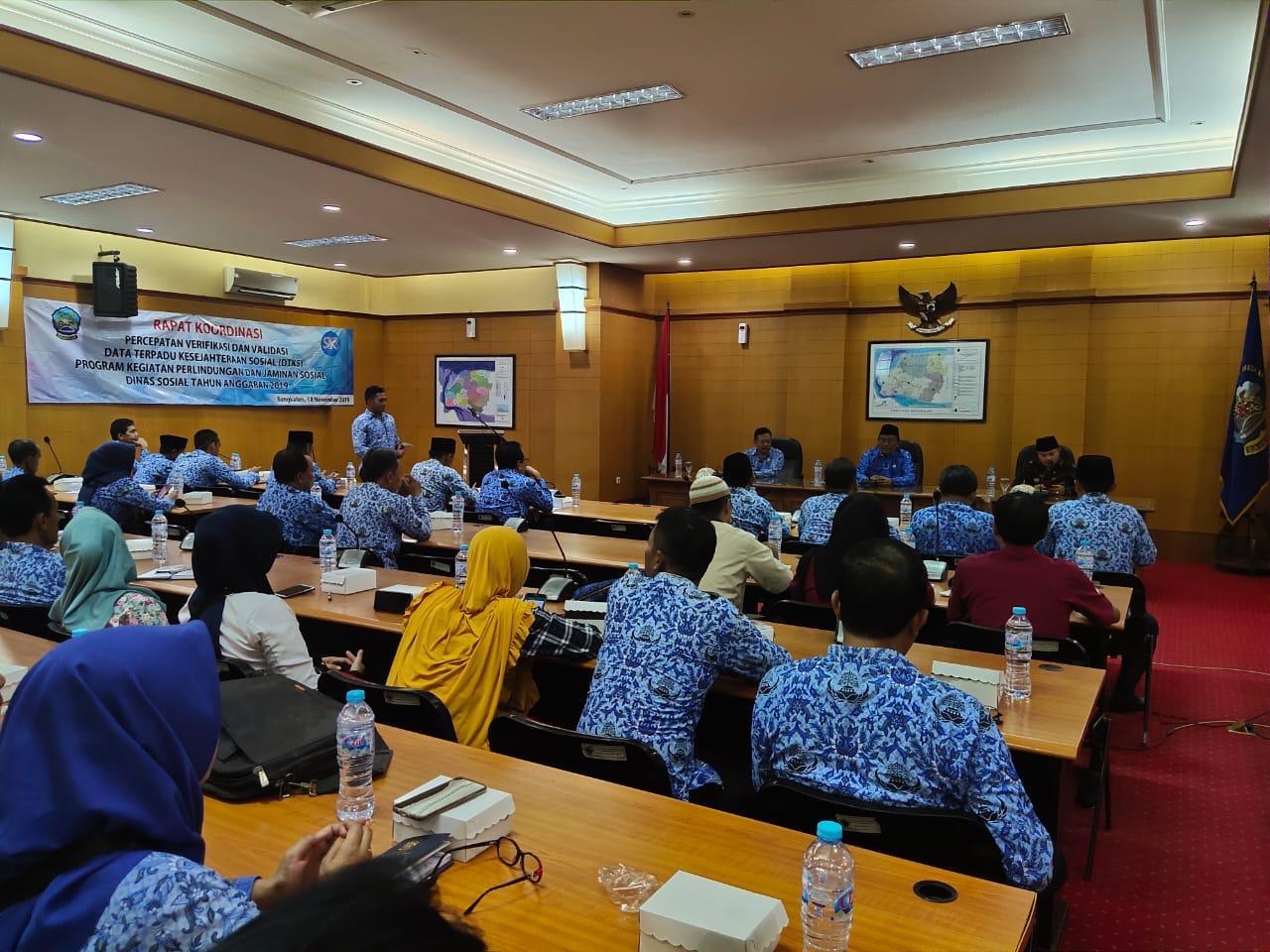 Dinsos Bangkalan Percepat Verval Data Penerima Bansos