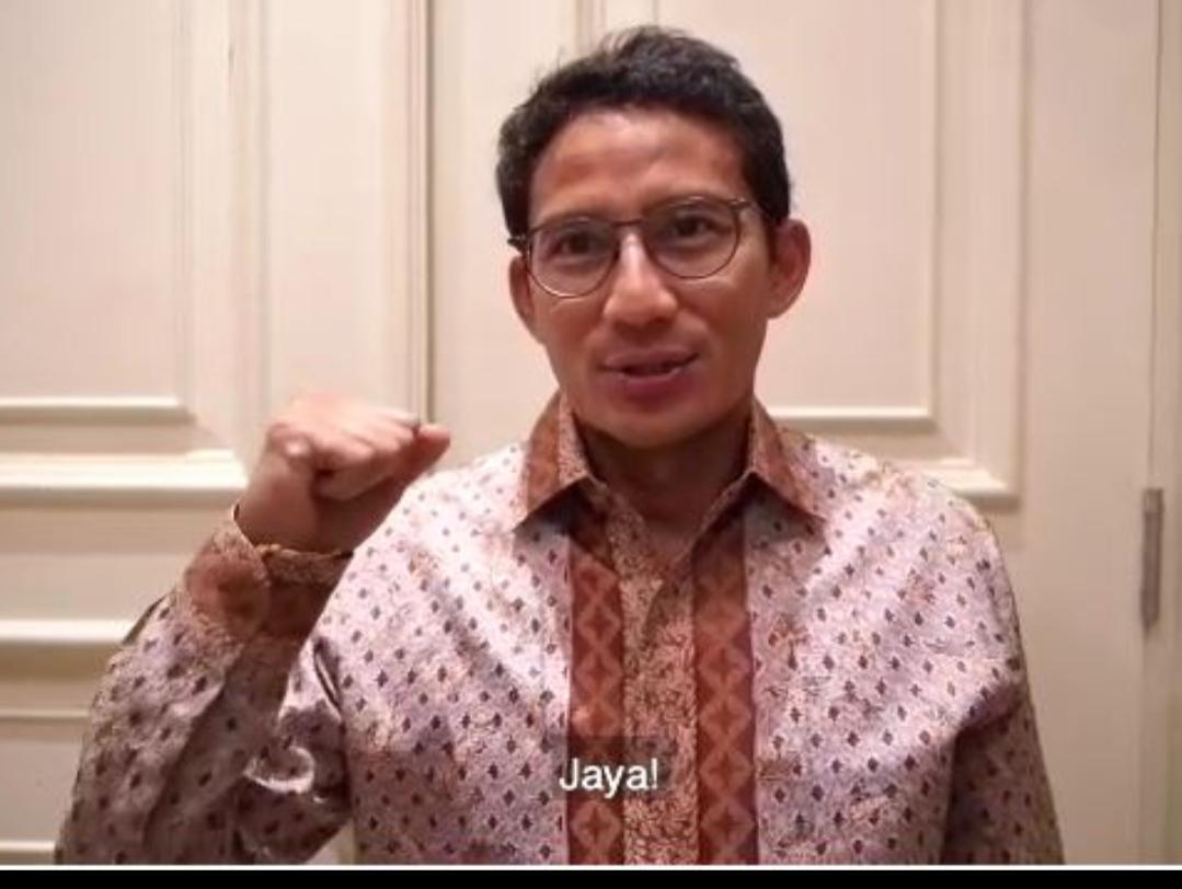 Dukung Lomba Lomba Lari 10K Sandiaga Uno Titip Salam Untuk Ketua Koni Depok