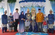 Kain Songket Bagian Dari Prosesi Pernikahan Adat Palembang