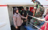 Ratusan Personil TNI – Polri Siap Amankan Pilkades Kepulauan di Sumenep