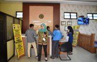 Pencari SKCK di Polres Wonosobo Membludak Terkait Pendaftaran CPNS 2019