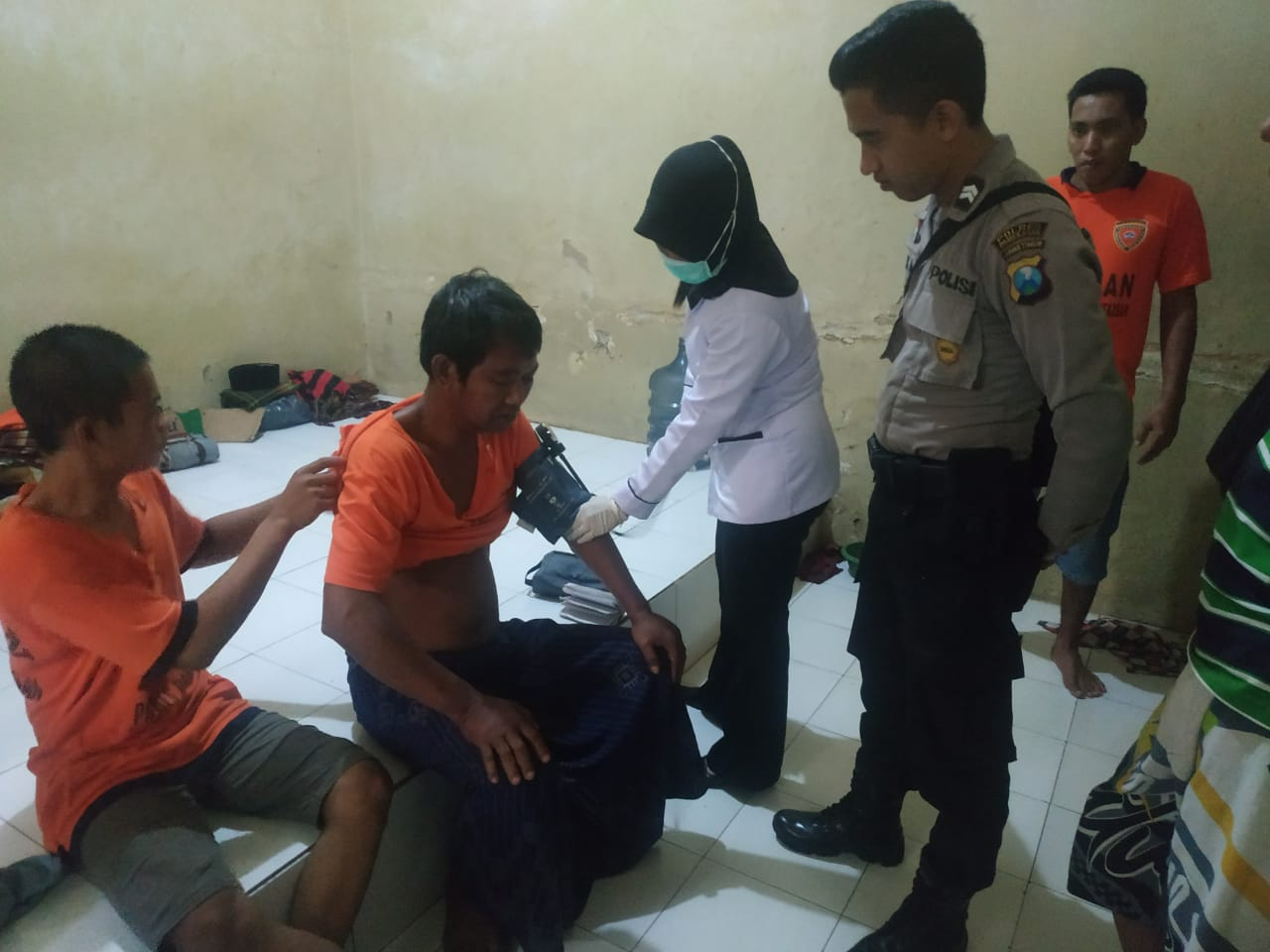 Puluhan Tahanan Polres Pamekasan, Cek Kesehatan