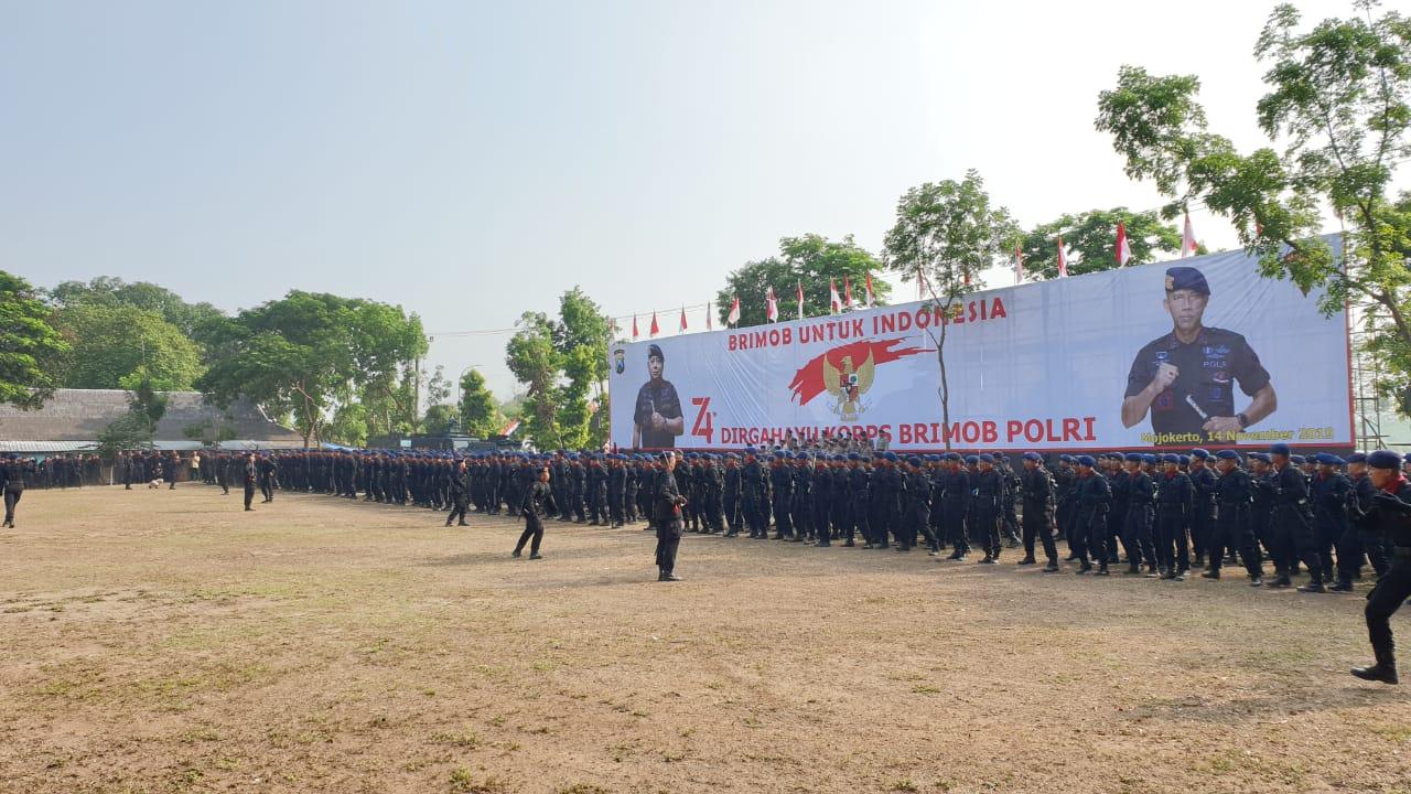 HUT Brimob ke- 74 di Mojokerto, Begini Kata Waka Polres Pamekasan