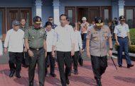 Presiden Jokowi Resmikan Tol Di Lampung