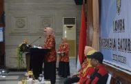 Peringati HUT Ke-20, DWP Provinsi Jatim  Gelar Lomba Merangkai dan Menata Sayur Mayur