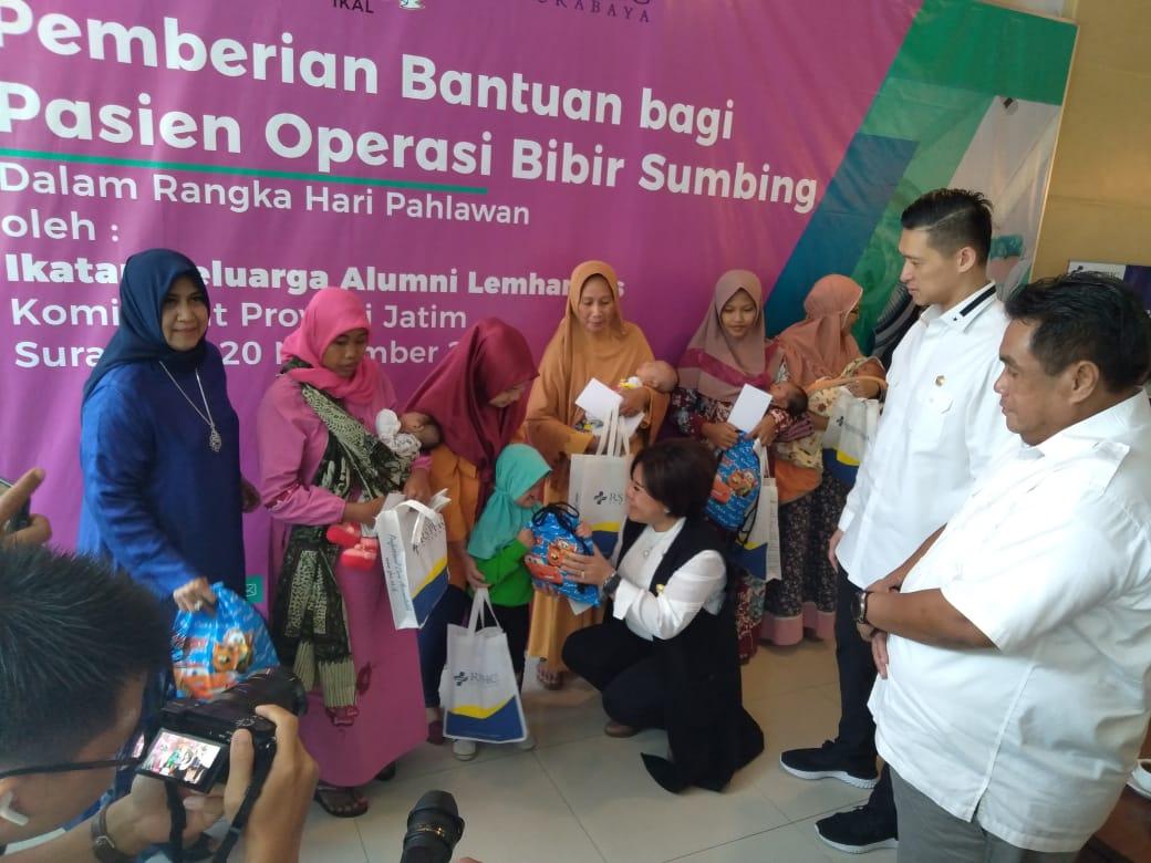 IKAL Jatim Bantu Operasi Bibir Sumbing 20 Pasien PHC Surabaya