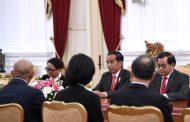 Terima Japinda, Presiden Bicarakan Kerja Sama dan Pembangunan Infrastruktur