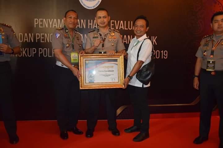Kategori Prestasi Sangat Baik, Menteri PAN RB Berikan Penghargaan Kepada Kapolres Pamekasan