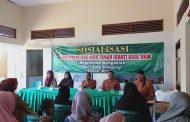 Dinkop UM Sumenep Sosialisasikan SHAT di Kelurahan Bangselok