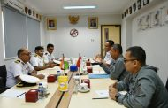 Kepala Bakamla RI Menerima Courtesy Call Komandan Indian Coast Guard Ship Shaurya