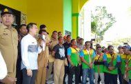 Ketua DPRD Sergai Tampung Aspirasi Ratusan Buruh ASPBB-SB