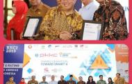 Kota Madiun Raih Dua Penghargaan Awarding RKCI 2019
