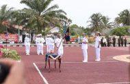 Sertijab Komandan Lanal Bengkulu