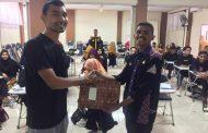 Mahasiswa FKM UPRI Menjadi Pemateri Pada Kegiatan LKMM di BEM STIK TM