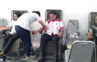 Sambut HUT ke-8, OJK NTT Kumpulkan 91 Kantong Darah