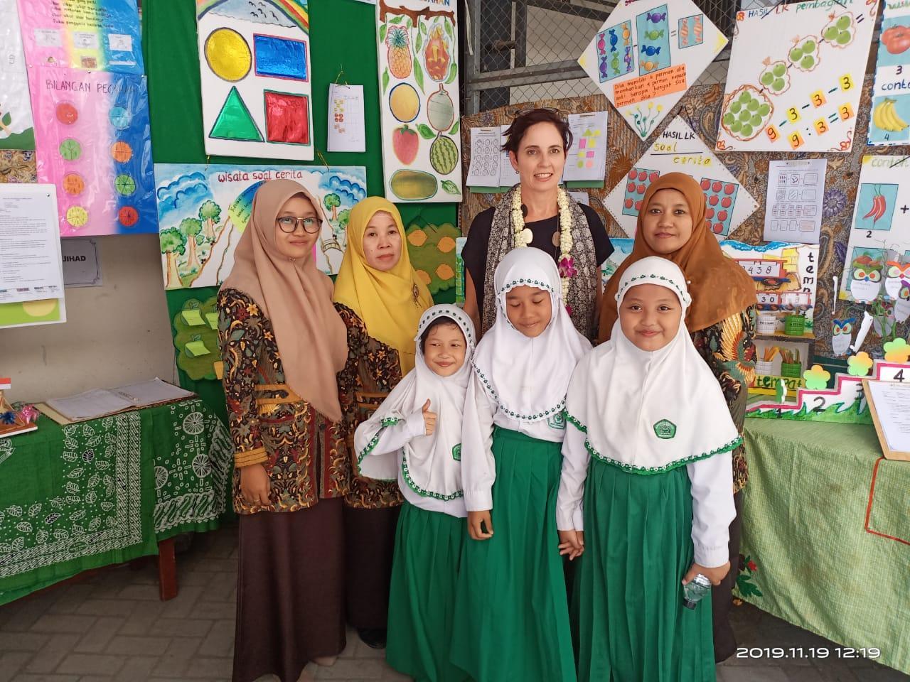 Kunjungi MI/TK Al Qodir Sidoarjo , PBNU, dan Kedutaan Australia Pantau Program INOVASI di Jawa Timur