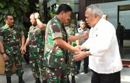 Berita Foto :  Panglima TNI Temui Menteri PUPR