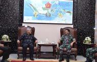 Panglima TNI Terima Audiensi Ketua KPU