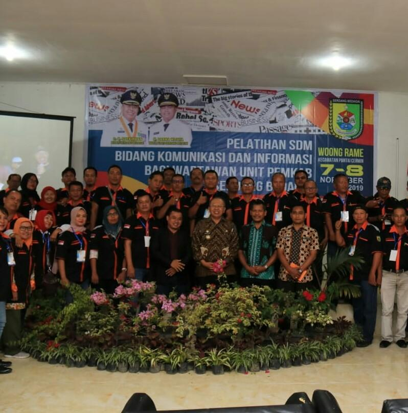 Pemkab Sergai Gelar Pelatihan Jurnalistik