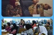 Pengrajin Batik Audensi Dengan Bupati Dan Dekranasda