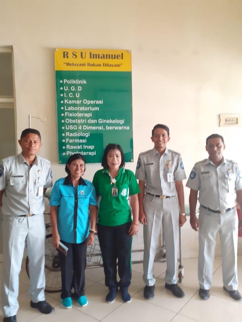 Perkuat Sinergitas, Tim Operasional Jasa Raharja Sambangi Rumah Sakit di Sumba