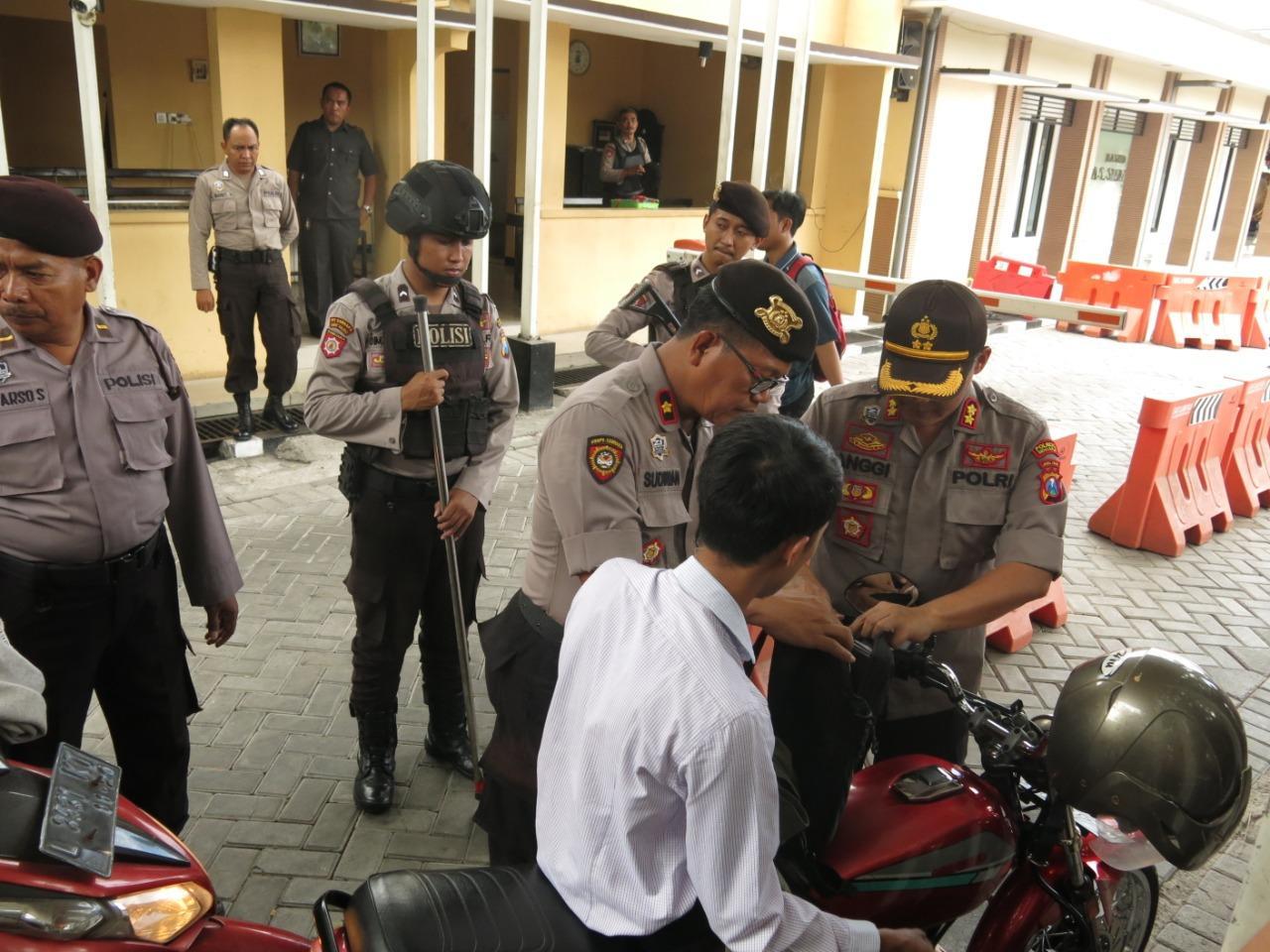 Polresta Sidoarjo Perketat Pengamanan, Antisipasi Aksi Teror
