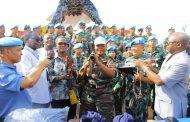 Satgas TNI Konga XXXIX-A RDB Serahkan Senjata dan Munisi Ke DDR-RR Kongo