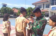 Satuan Karya Pramuka Bahari Lanal Semarang Gelar Latihan Dasar Kepemimpinan