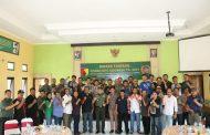 Sinergitas Dandim 0816 Sidoarjo dan Jurnalis, Akan Bangun Media Center