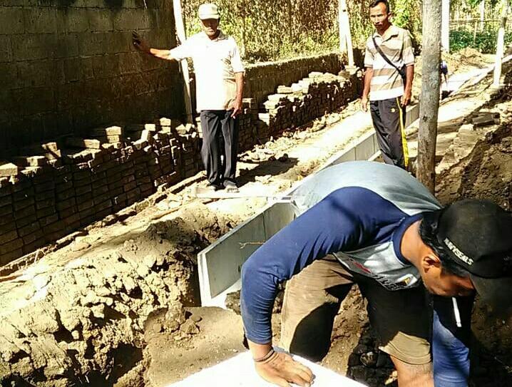 Sukorejo Kulon Manfaatkan DD Untuk Membangun Patusan