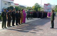 TNI – Polri Bersama Pemda KSB Memperingati Hari Pahlawan Ke74 Dirangkaikan Hari Kesehatan Nasional.