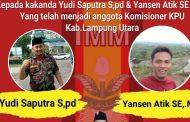 Terdapat Dua Wajah Baru Hiasi Anggota KPUD Lampung Utara