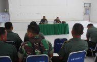 Tim Pengawas Pangdam I/BB Bimbing Kegiatan Wasev Teritorial Kodim 0209/LB