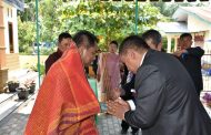 Wabup Darma Wijaya Resmikan Rumah Dinas Pdt Gereja HKBP Pardamean Pekan Kamis