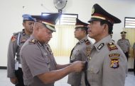 Polres KSB, Wakapolres Pimpin Serah Terima Jabatan Kasat Narkoba Polres KSB