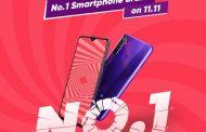 Mega sale 11.11: Realme Pecahkan Rekor Baru, Smartphone No.1 di Shopee dengan Pengunjung Terbanyak