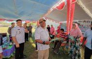 Sebanyak 2.080 Sertifikat Tanah Gratis, Kepala BPN Resmi Serahkan Kepada Warga Kepsul
